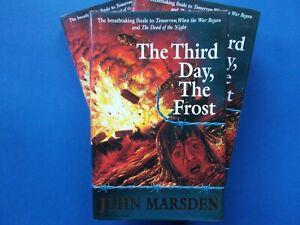 ## THE THIRD DAY THE FROST - JOHN MARSDEN - TOMORROW SERIES HC DJ