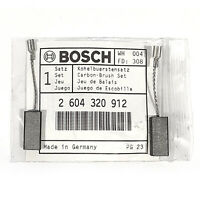 Genuine Bosch Router Carbon Brushes for POF 500 A POF 500 EA PAM 500 PKF 25