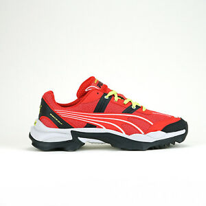 Puma Men's NITEFOX HIGHWAY Trainers Shoes High Risk Red/Puma Black 371480-02 d