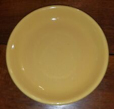 "POTTERY BARN COLORFUL SERVE YELLOW 9"" SALAD PLATE REPLACEMENT DISHES"