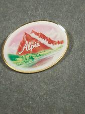 PIN ALPIA OVAL PIN GLASIERT  (AN1352)