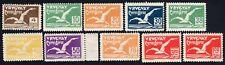Uruguay 1928 set of stamps Mi#366-374, 378 MNH/MH CV=325€+100%