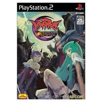 USED PS2 Vampire DarkStalkers Collection Japan Import