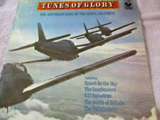 """Tunes of glory,southern band of the RAF ,ungraded 12""""record,fair-good, fast post"""