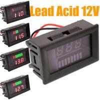 Motorcycle Meter Digital For Led Gauge Panel 12v Voltage Battery Power Display Q