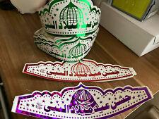 2 Jashan e Eid Milad Un Nabi (PBUH) caps hats Children Jaloos band Rabi ul Awal