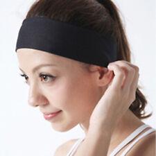 Women Girls Men Unisex Yoga Sport Sweatband Headband Elastic Hair Band Accessory