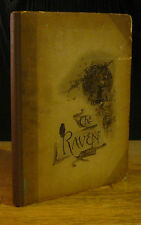 THE RAVEN (1889) Edgar Allan Poe W.L. TAYLOR Illustrated, 1st Ed.Thus, EP Dutton