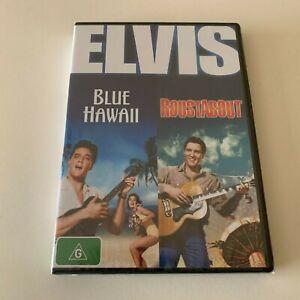 ELVIS - BLUE HAWAII & ROUSTABOUT- PAL R4 - 2 DVD SET - NEW & SEALED