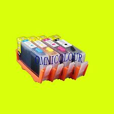 4 compatible refillable ink cartridge with chips for HP920 HP 920 6000 7000 7500