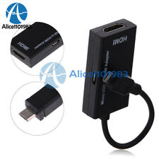Micro USB to HDMI Adapter 1080P HDTV Cable for Samsung Huawei Sony HTC LG