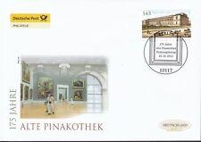 BRD 2011 Deutsche Post FDC MiNr. 2893  175 Jahre Alte Pinakothek München