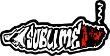 Sticker - Sublime Joint Logo Doobie Ska Punk Rock Music 90s Lbc Band Decal 5625