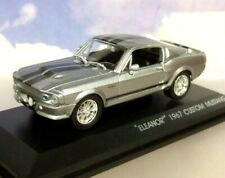 "GREENLIGHT 1/43 1967 SHELBY FORD MUSTANG GT500 ""ELEANOR"" GONE IN 60 SECONDS"
