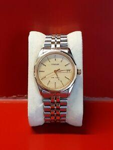 Très belle montre homme TISSOT PR 100 quartz Or et Acier Fonctionne