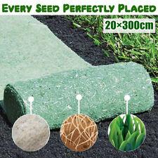 20×300cm Biodegradable Grass Seed Mat Fertilizer Garden Picnic Grass Roll Turf