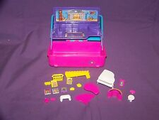 Vintage 1993 Mini Caboodles Living Room Play Set W/Accessories By Toy Biz In GUC