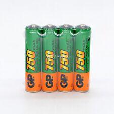 Original AAA  Real Capacity  GP 1.2V NiMh 750mAh Rechargeable Battery  4pcs