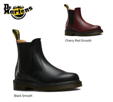 DR. MARTENS 2976 CHELSEA PULL-ON SMOOTH LEATHER BOOTS [ALL COLORS & SIZES] NEW!