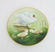 The Danbury Mint Vintage Collectable plates - Waterbird plates - Mute Swan