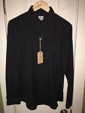 Orslow Wool Linen Blend Button Down Oxford Japanese Shirt 3 Medium BNWT