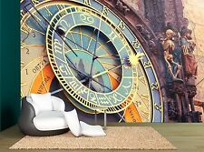Prague Astronomical Clock Wall Mural Photo Wallpaper GIANT WALL DECOR