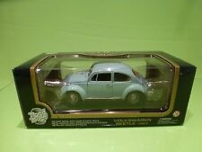 ROAD TOUGH VW VOLKSWAGEN BEETLE 1967- BLUE 1:18 - GOOD CONDITION IN BOX