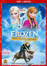 Frozen (DVD, 2014, Sing-Along Edition Includes Digital Copy)  Brand New!