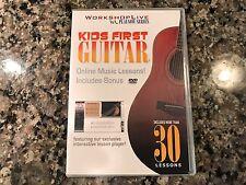 Kids First Guitar New Dvd! 2007 WorkshopLive PlayNow Series