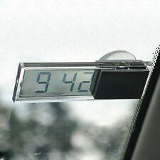 Sucker Transparent Car Windshield Office Digital Decoration LCD Clock