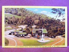 Postcard WV Gauley Bridge Chimney Corner Junction of Midland Trail
