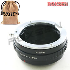Roxsen Sony Minolta Alpha AF lens to Canon EOS M EF-M mount Mirrorless adapter