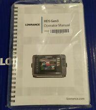 Lowrance Hds Gen3 Operator Manual + Installation Manual