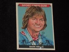 MARK WELLS 2012 SPORT KINGS SIGNED AUTOGRAPHED CARD #237 1980 TEAM USA HOCKEY