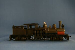 HOn3 MODEL DIE CAST (ROUNDHOUSE) 2-TRUCK SHAY R-T-R BLACK, UNLETTERED - NEW