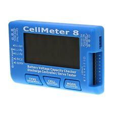 RC Digital CellMeter 8 Servo Tester 2S-8S Battery Voltage Capacity Checker