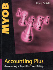 MYOB Accounting Plus User Guide - Version 9 - Very Good Condition