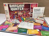 Vintage 1980's Retro 1981 Bargain Hunter Board Game Complete Milton Bradley