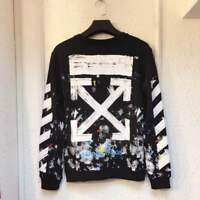 NEW Off White C/O Virgil Abloh Galaxy Sweater Pullover Sweatshirt Coat Size S-XL