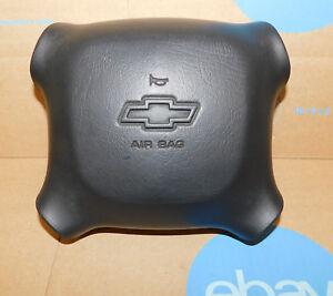 2001-2002 Chevy Silverado Tahoe Driver Wheel Airbag OEM W/90 Day Warranty Black