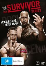WWE - Survivor Series 2011 (DVD, 2012) New  Region 4