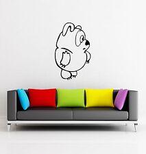 Wall Stickers Vinyl Decal Nursery For Kids Bear Animal ig700