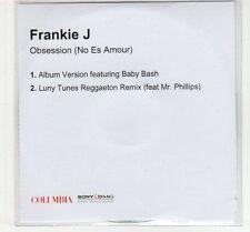 (EC691) Frankie J, Obsession (No Es Amour) - DJ CD