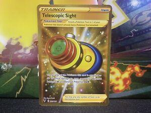 Pokemon Vivid Voltage Telescopic Sight 203/185 Gold Card Secret Rare Pack Fresh
