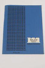 Rar Marantz Model 2215 B Receiver Betriebsanleitung mit Schaltplan Original