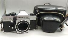 >Vintage German GDR PRAKTICA MTL 5 B PENTACON Film Camera M42 +Leather Case