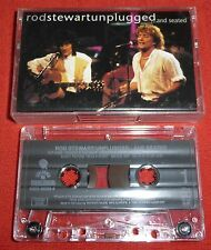 ROD STEWART CASSETTE TAPE - UNPLUGGED .....AND SEATED