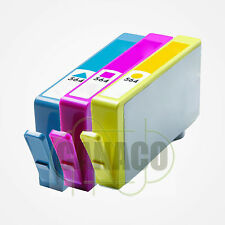 3 New COLOR 564 564XL Ink Cartridge for HP Plus-B209a C5324 D5440 B109 5520 7520