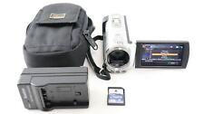 Sony HandyCam 4GB DCR-SX44 Digital Video Camera Camcorder Case, Charger + 4GB SD