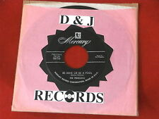 PENGUINS~ BE MINE OR BE A FOOL~DON'T DO IT~A KILLER TWO SIDER~ ~ DOO WOP 45